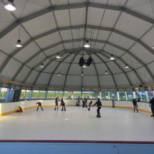 patinoire synthétique intérieure
